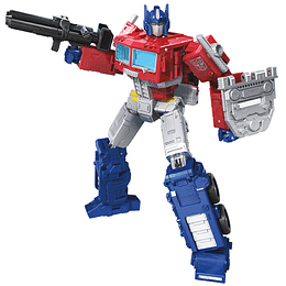 Optimus Prime Leader Class Kingdom WFC Transformers