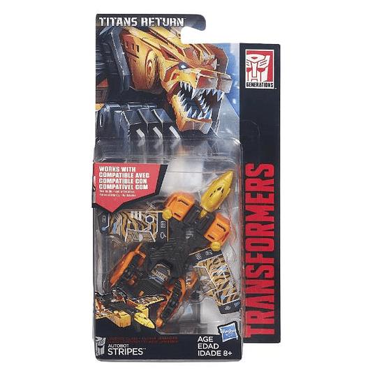 Stripes Legends Class Titans Return Transformers
