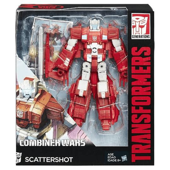 Scattershot Voyager Class Titans Return Transformers