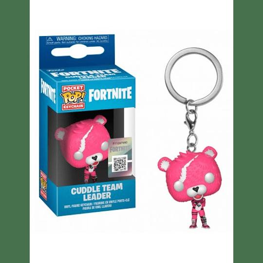 Fortnite Cuddle Team Leader Pocket Pop! Key Chain