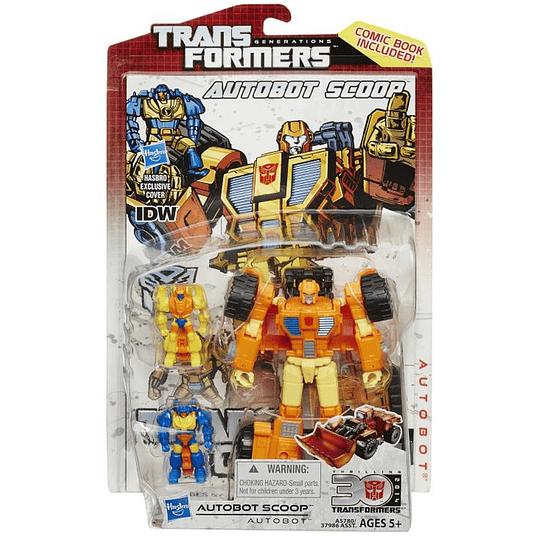 Scoop Thrilling 30 Transformers