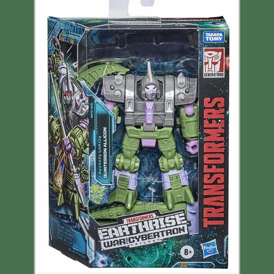 Quintesson Allicon Deluxe Class Earthrise WFC Transformers