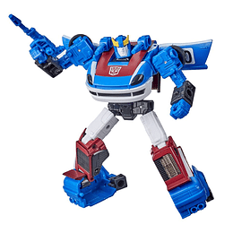 Smokescreen Deluxe Class Earthrise WFC Transformers