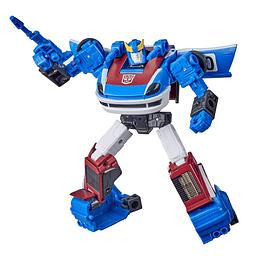 Smokescreen Deluxe Class Earthrise WFC Transformers
