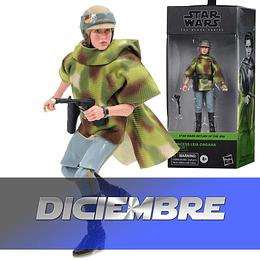 "Princess Leia Organa (Endor) W2 Phase 4 The Black Series 6"""