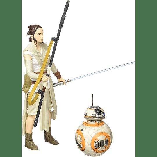 Rey (Jakku) & BB-8 The Black Series 6
