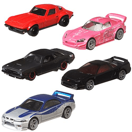 Set Completo Fast & Furious Quick Shifters Mix 956J Hot Wheels Premium