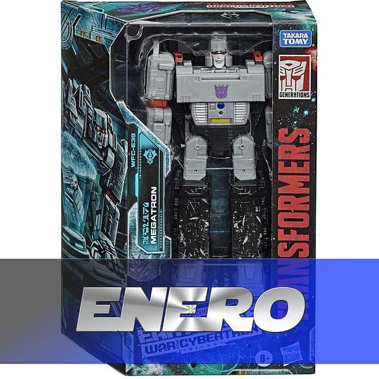 Megatron Voyager Class W3 Earthrise Transformers