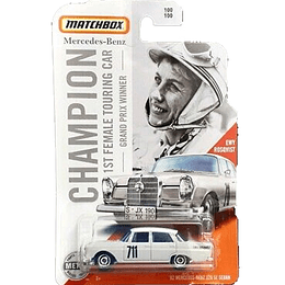 62 Mercedes-Benz 220 Sedan Grand Prix Winner Matchbox
