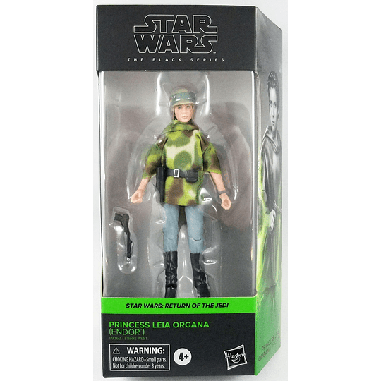 Princess Leia Organa (Endor) W2 Phase 4 The Black Series 6
