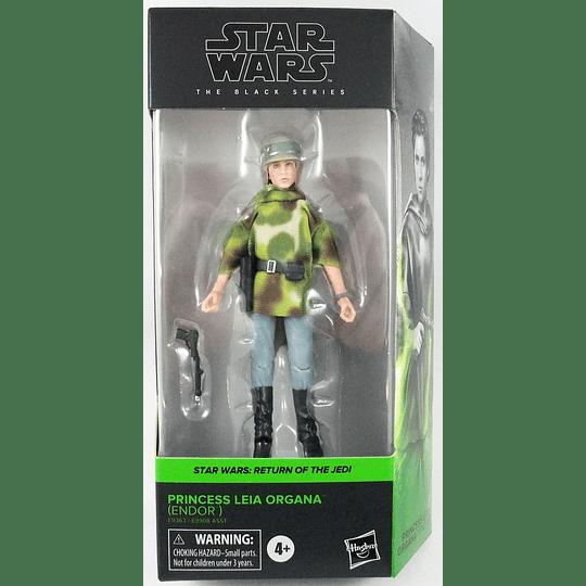 Princess Leia Organa (Endor) W2 Phase 4 The Black Series 6
