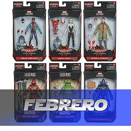 """Set completo Stilt Man BAF Series Marvel Legends 6"""""""