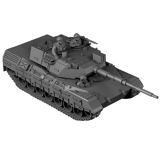 Leopard I Main Battle Tank [pieza faltante] 15mm