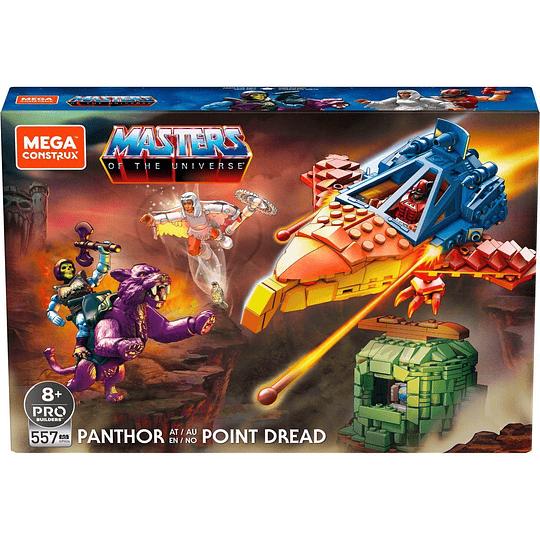 Panthor en Point Dread MOTU Mega Construx