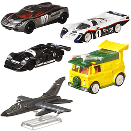 Set Completo Hot Wheels Replica Entertainment (Mix 956T) 2020