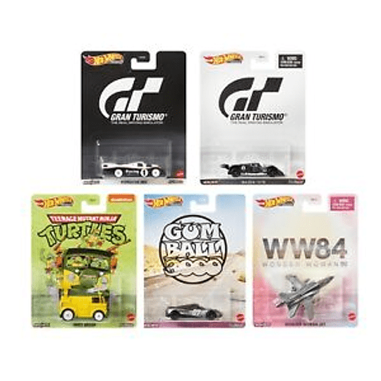 Set Completo Hot Wheels Replica Entertainment (Mix 956T) 2020