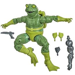 """Frog Man Stilt Man BAF Marvel Legends 6"""""""