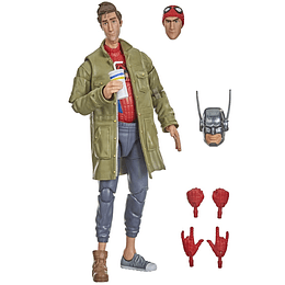 "Peter B. Parker (Into The Spider-Verse) Stilt Man Series Marvel Legends 6"""