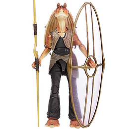 Jar Jar Binks Deluxe The Black Series 6""