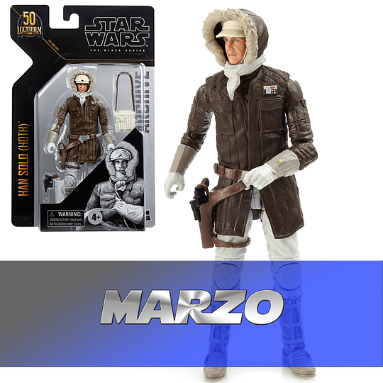 Han Solo (Hoth) W1 2021 Archives The Black Series 6