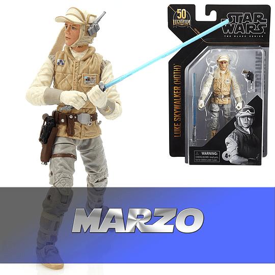 Luke Skywalker (Hoth) W1 2021 Archives The Black Series 6
