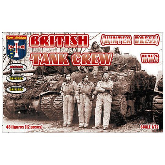 WWII British Tank Crew Winter Dress #72061 1:72