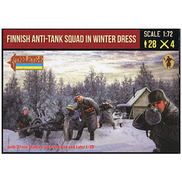 Finnish Anti-tank Squad in Winter Dress 246 1:72