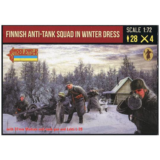 Finnish Anti-tank Squad in Winter Dress 246 1:72