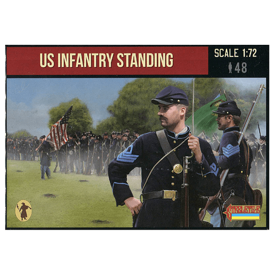 US Infantry Standing 157 1:72