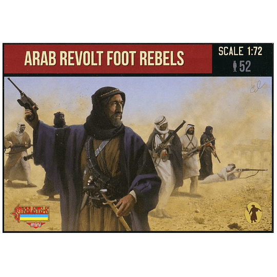 Arab Revolt Foot Rebels M127 1:72