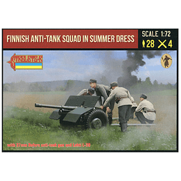 Finnish Anti-tank Squad in Summer Dress 245 1:72