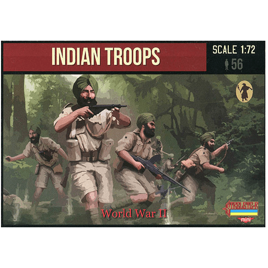 WWII Indian Troops M119 1:72