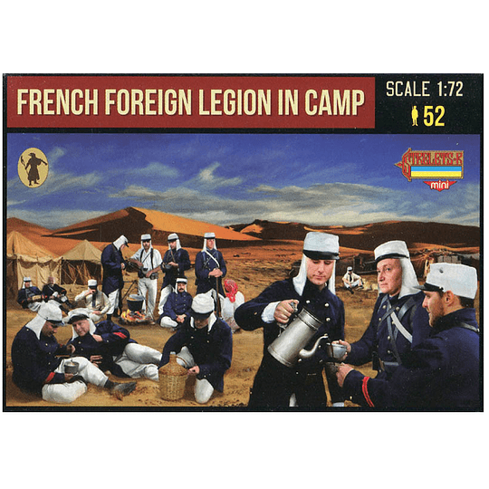 French Foreign Legion in Camp M146 1:72