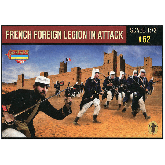 French Foreign Legion in Attack M147 1:72