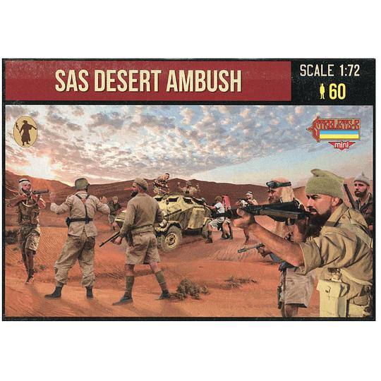 SAS Desert Ambush M145 1:72