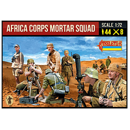 Africa Corps Mortar Squad 280 1:72