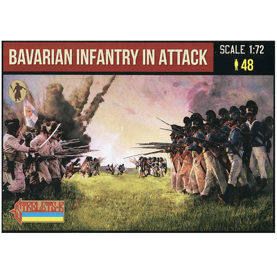 Bavarian Infantry in Attack 227 1:72