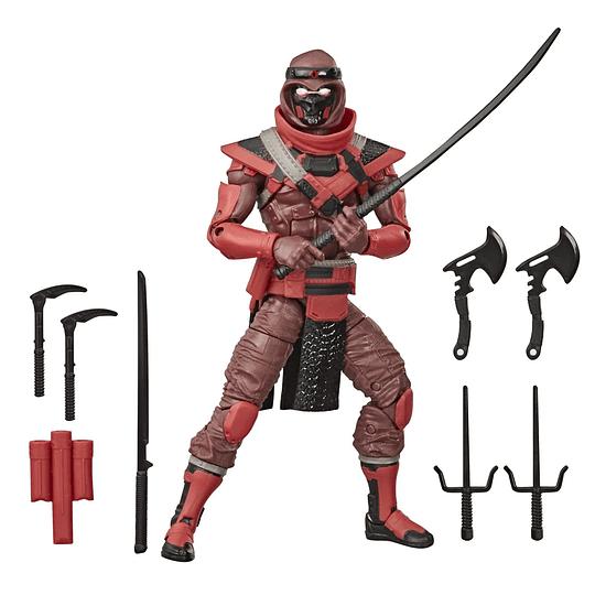 Red Ninja W2 G.I. Joe Classified Series 6