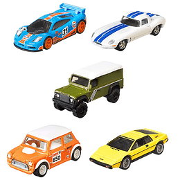 Set Completo British Horse Power Car Culture Hot Wheels 1:64