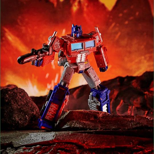 Optimus Prime Leader Class Kingdom WFC Transformers