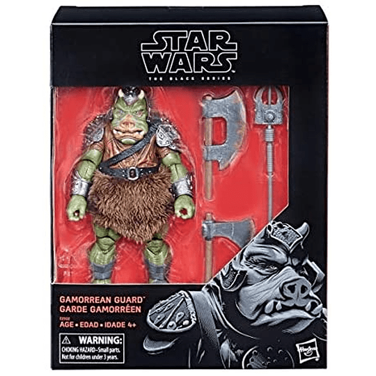 Gamorrean Guard Deluxe The Black Series 6