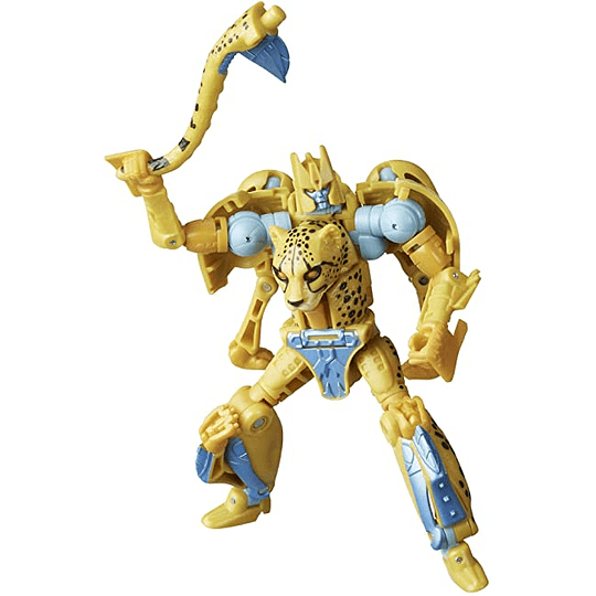 Cheetor W1 Deluxe Class Kingdom WFC Transformers