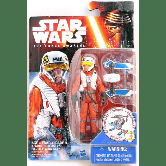 X-Wing Pilot Asty Tfa The Force Awakens 3,75''