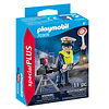 Policía con cámara de control de velocidad Special Plus Set 70305