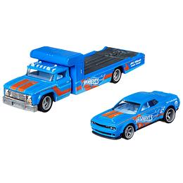 '18 Dodge Challenger SRT Demon & Retro Rig Team Transport #30