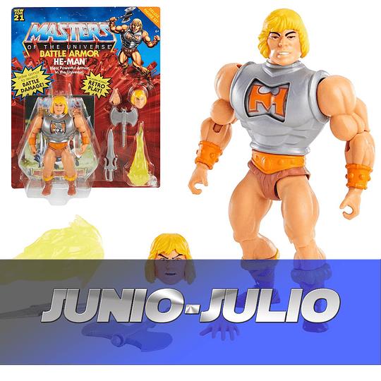 Battle Armor He-Man Deluxe Origins Masters of the Universe MOTU