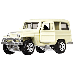 1962 Willys Jeep Wagon Moving Parts Matchbox 1:64