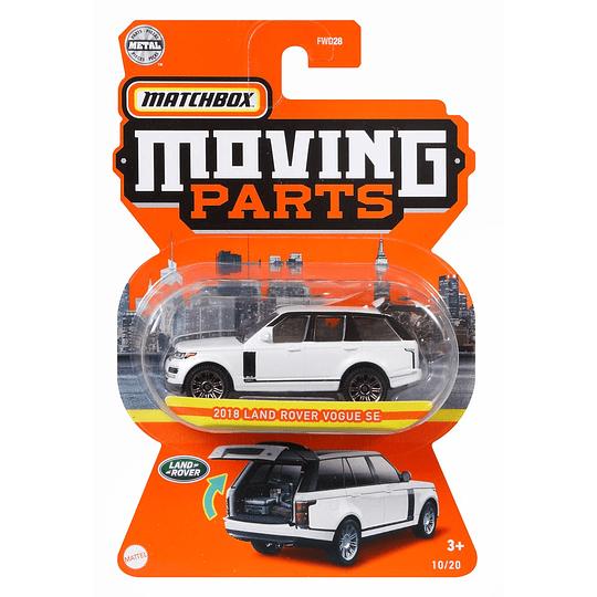 2018 Land Rover Vogue SE Moving Parts Matchbox 1:64