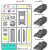 Tanque soviético moderno T55 Guerra Fría