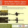Loyd Carrier y cañón antitanque 6 pdr británicos